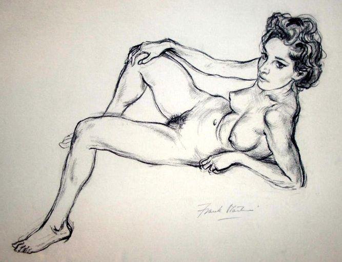Anatomy nude sexy gothic artist art
