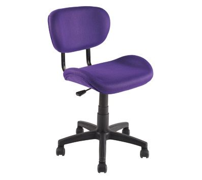 Purple Rolling Desk Chair Craft Room