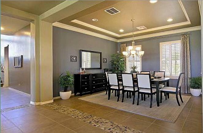model home formal dining room dream home designs pinterest