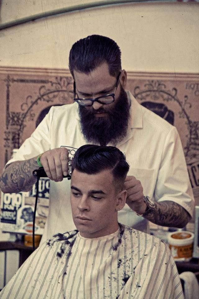 Hair Style Shop : tattoo and beard My others Pinterest