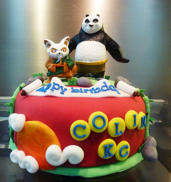 kung fu panda cake | Flickr - Photo Sharing!