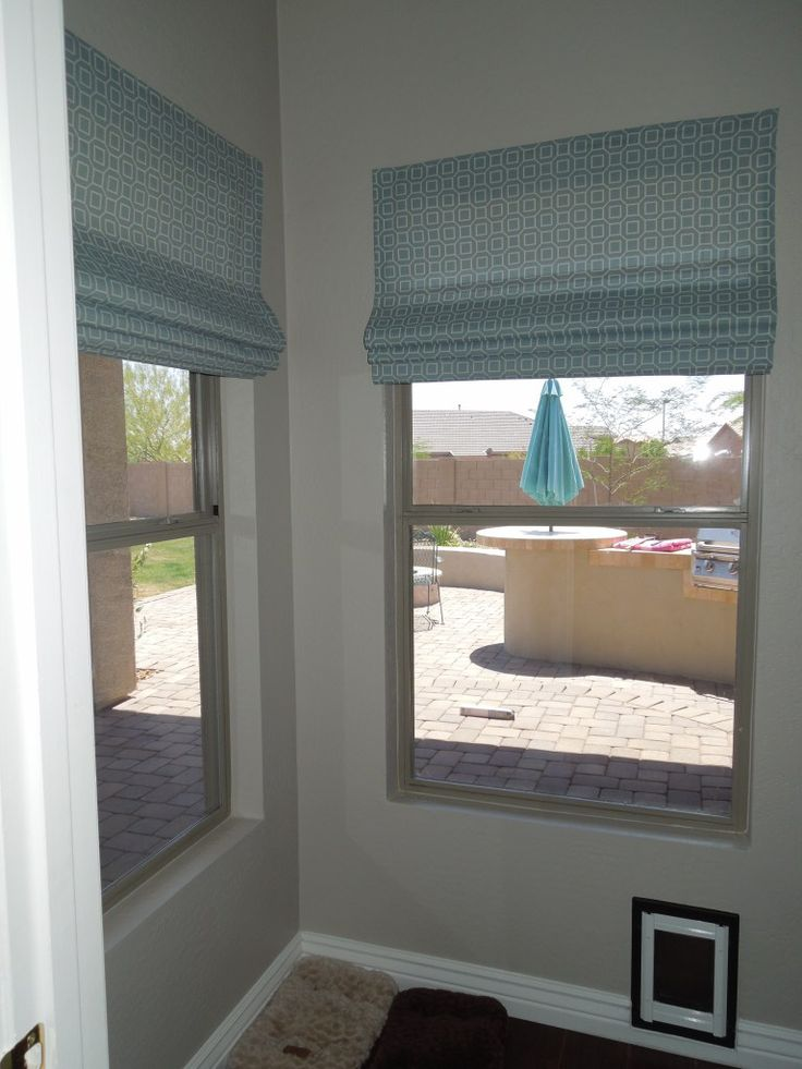no sew diy roman shades from cheap venetian blinds