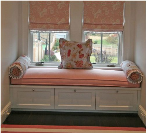 Window Seat Storage For The Home Pinterest