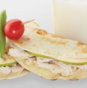 Apple Chicken Quesadilla   Recipe