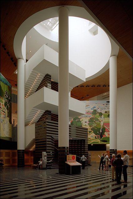 Museum of modern art san francisco 1995 mario botta for San francisco museum modern art