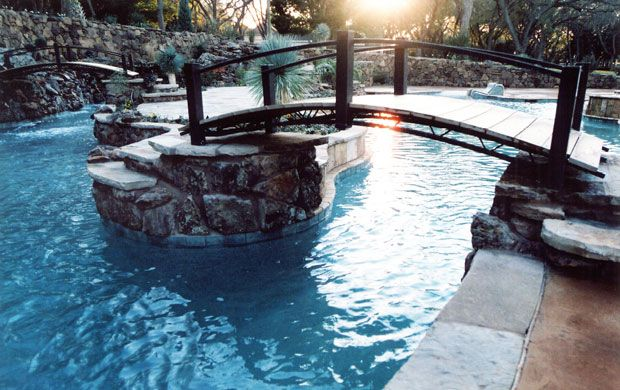 Lazy River In Your Backyard : Pin by Jolene West on Home ~ Poolside Paradise  Pinterest