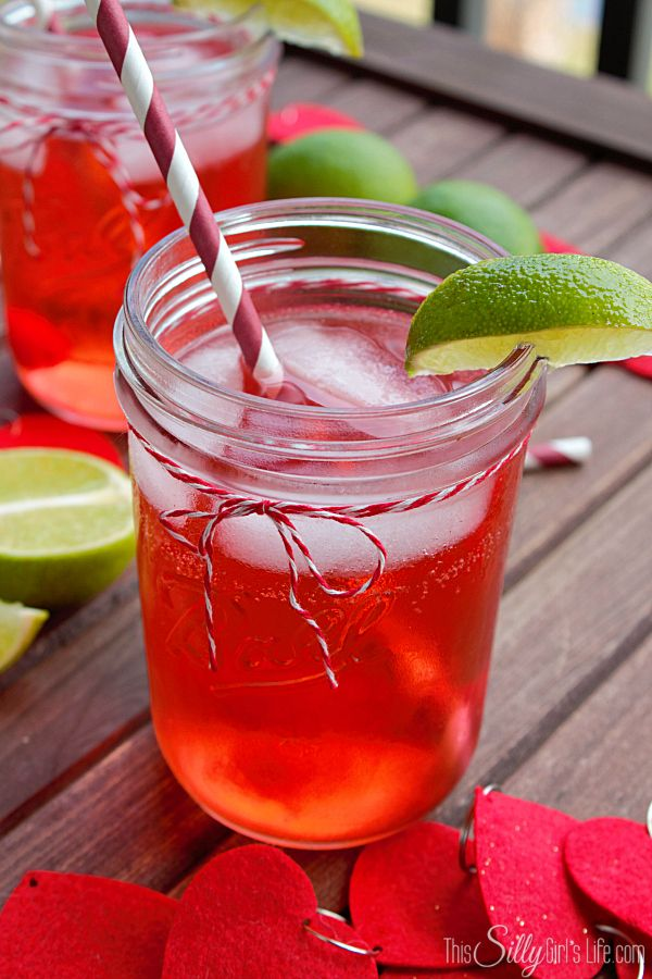Cherry Limeade Cocktails, the classic drink with a kick!