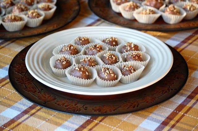Heritage Schoolhouse: Pecan Pie Truffles | Snackaroo | Pinterest