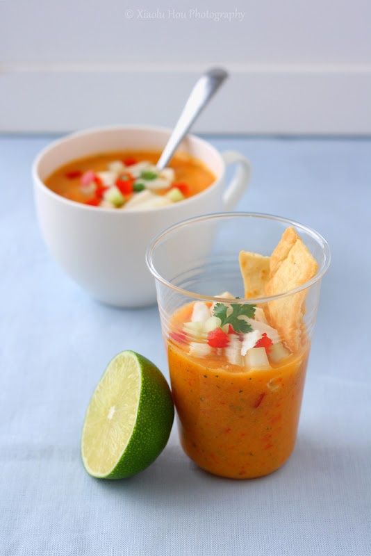 Mango gazpacho soup | Cooking | Pinterest