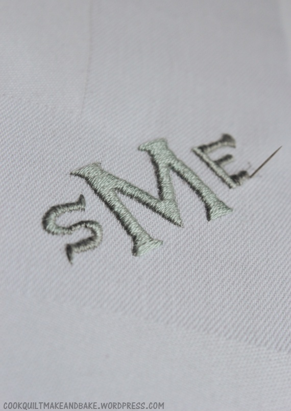 Diy hand embroidered monogram monograms pinterest