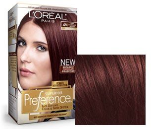loreal dark red brown hair color - Google Search