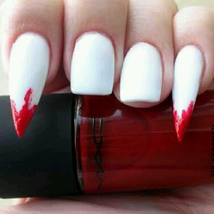 25+ best ideas about Vampire nails on Pinterest ...
