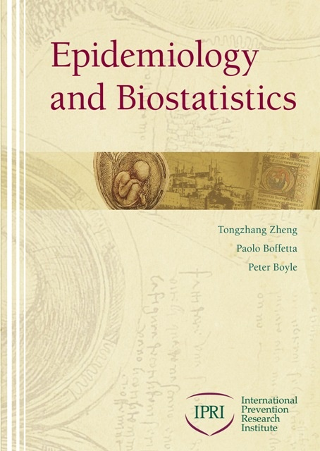 """""""Epidemiology and Biostatistics,"""" is an introductory textbook edited by YSPH Prof. Tongzhang Zheng, Peter Boyle, an adjunct professor at YSPH, and others. Among the contributing authors from the School of Public Health are Mayur M. Desai, Theodore R. Holford, Brian P. Leaderer, Xiaomei Ma, Robert W. Makuch, Herbert Yu, Yawei Zhang and Yong Zhu."""