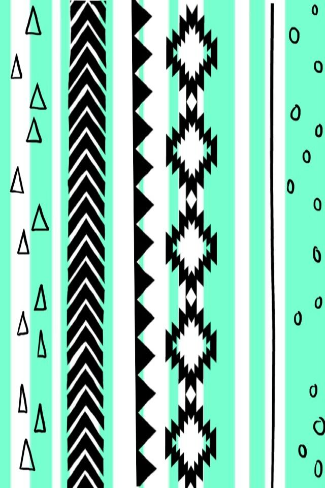 What a cute background! #tribal #pattern | Art | Pinterest