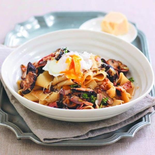 Mushroom, Leek & Pappadelle Ragu #Recipe #PowerofMushrooms