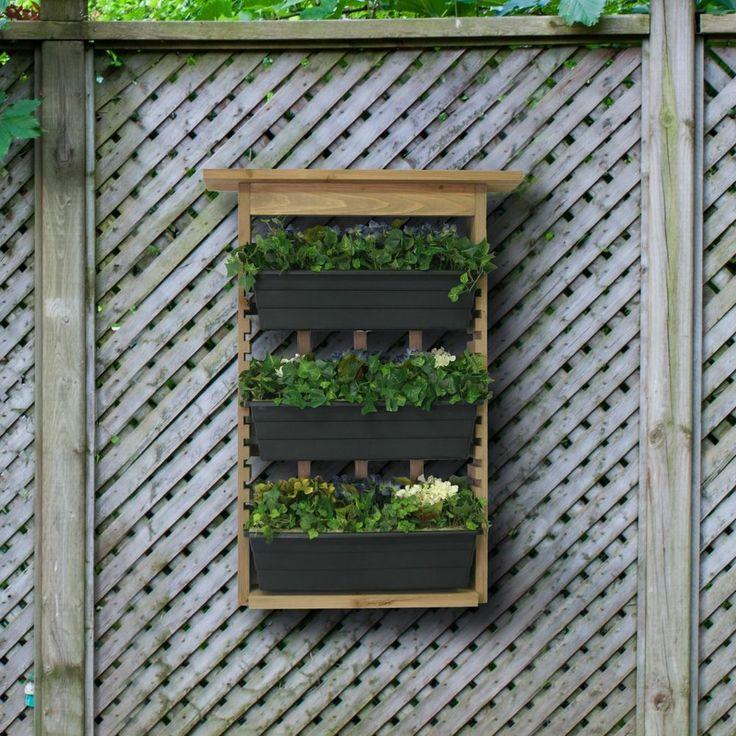 Algreen Garden Vertical Living Wall Planter Indoor Outdoor Gardening ...