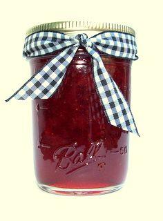 Canning Strawberry Jam -  Recipe