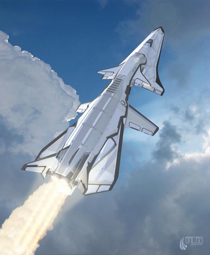 sci fi space shuttle craft - photo #43