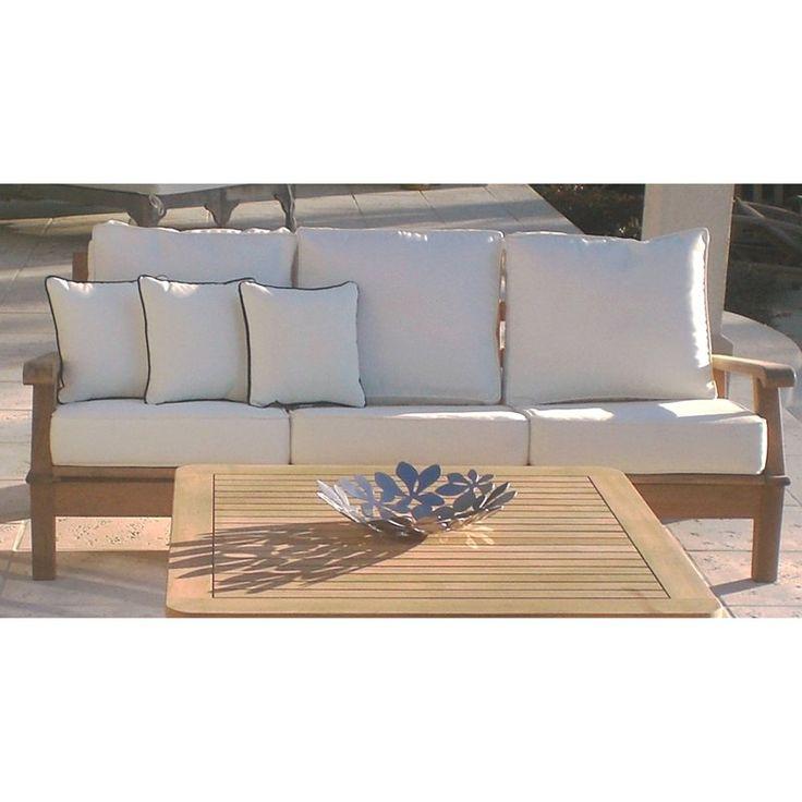 Royal Teak Miami Reclining Outdoor Sofa Www
