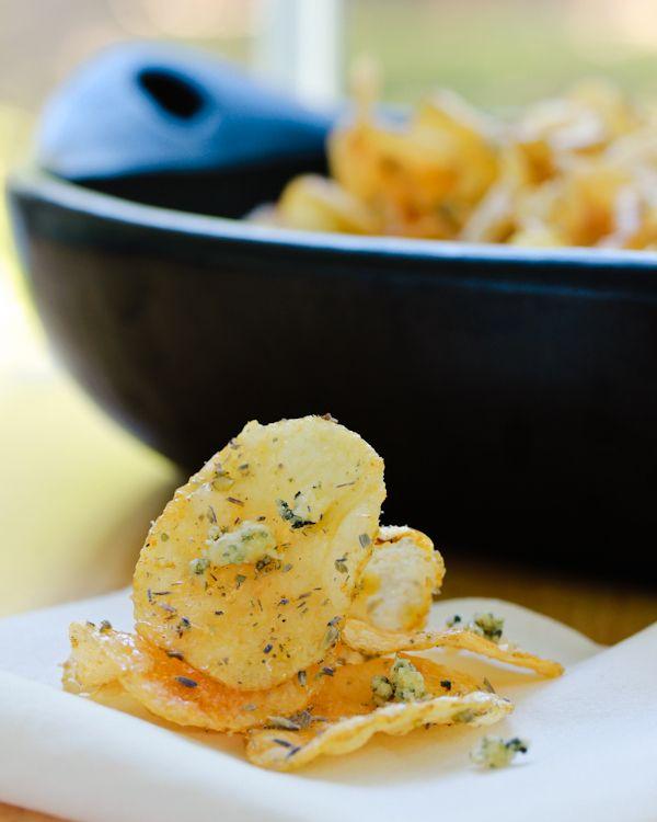 Napa Style Homemade Potato Chips | Recipe
