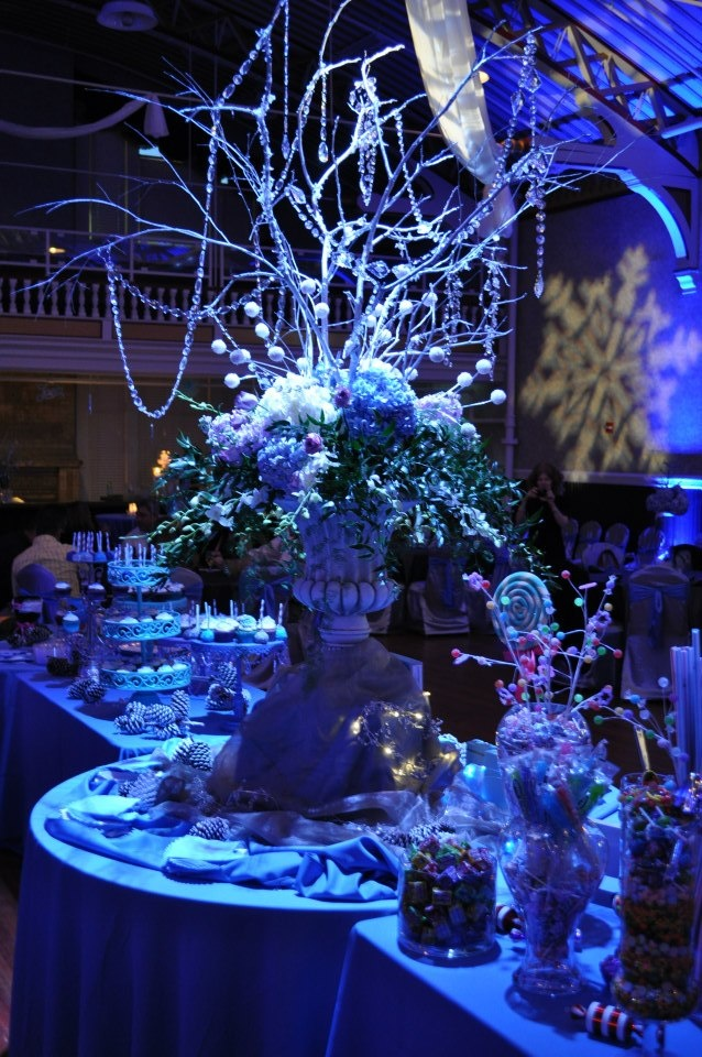 Winter Wonderland Party Centerpiece Ideas : Winter wonderland centerpiece wedding stuff pinterest