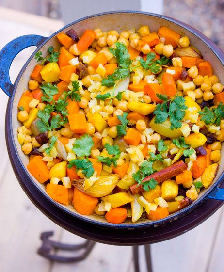 Root Vegetable Couscous With Preserved Lemon, Preserved lemon, Tagine ...