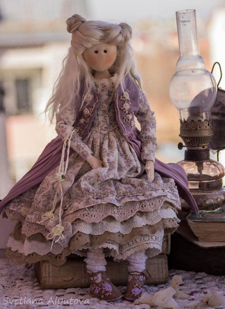 Интерьерная кукла малышка выкройка