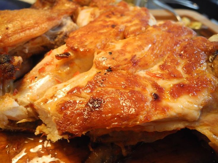 two-pan roasted chicken with harissa | Food | Pinterest