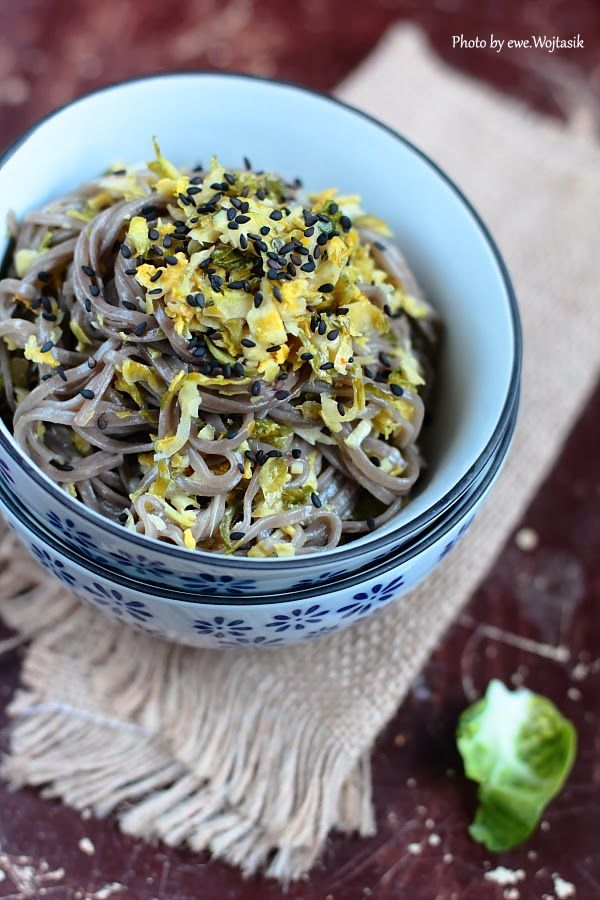 ... Sprouts And Soba Noodles With Ginger-Honey Sauce Recipes — Dishmaps