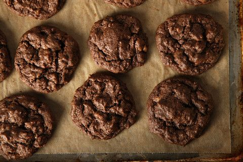Fudgy Toffee Pecan Cookies - Holiday baking is far away but these look ...