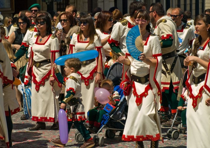 Moors and Christians Festival. On the final day, a huge battle is ...