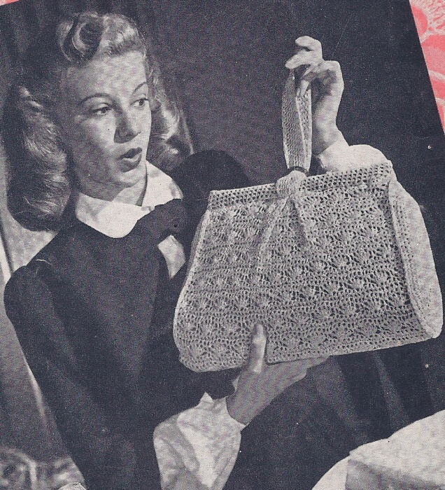 Crochet Evening Bag Pattern : ... 947/909/wUiuvintage-crochet-pattern-shell-stitch-purse-bag-evening.jpg