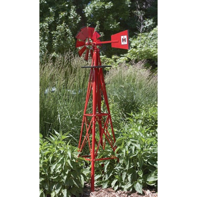 Red Windmill For The Garden Outdoors Pinterest