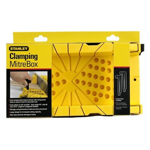 Amazon.com: Stanley 20-112 Clamping Miter Box: Home Improvement