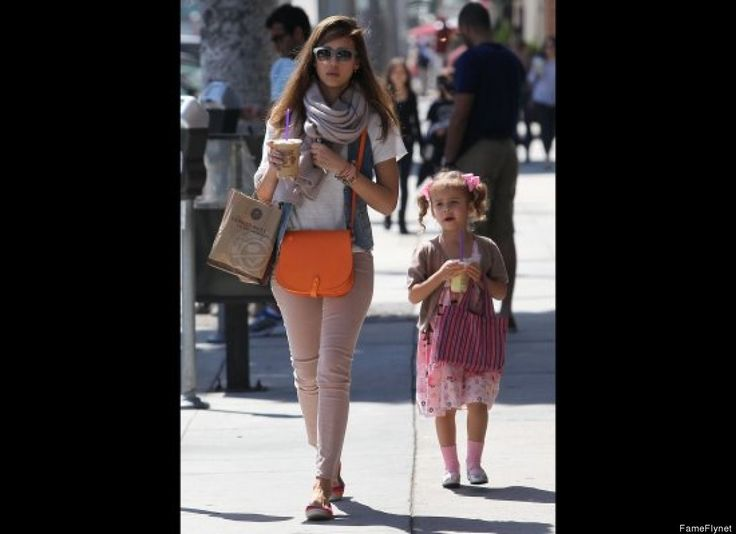 Jessica Alba and daughter Honor