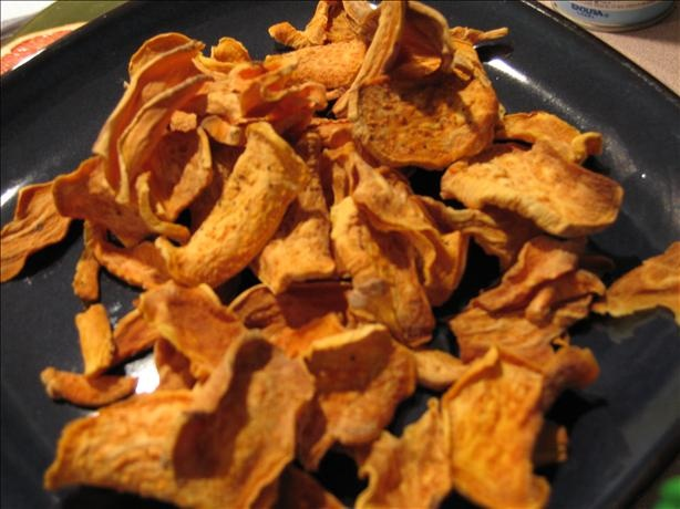 Oven Baked Sweet Potato Chips | Recipe