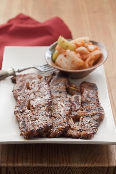 Korean Barbecued Beef Short Ribs (Kalbi) | food | Pinterest