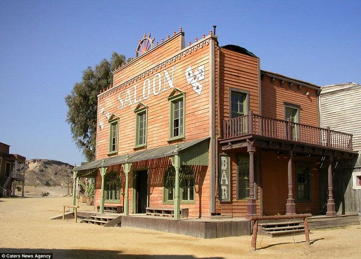 old movie set in spain old west town architecture