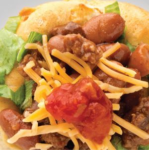 Grands Biscuit Taco Cups are made in the most fun way. Flatten ...