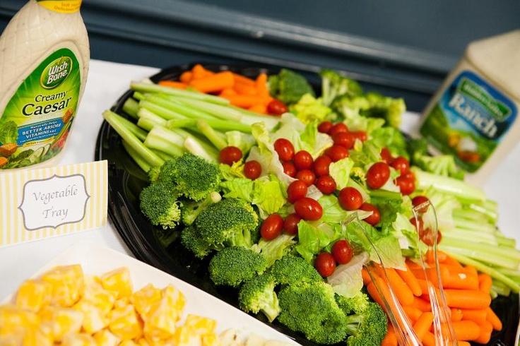 Vegetable platters for baby shower http www pinterest com pin