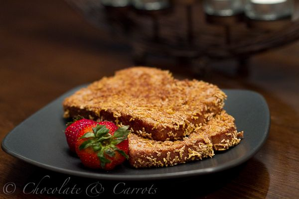 Butter Crunch French Toast Ingredients: 1/2 cup creamy peanut butter ...