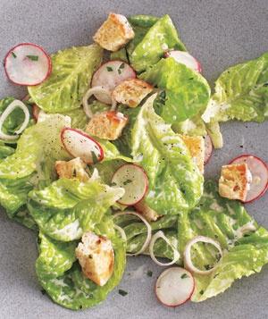 Bibb and Radish Salad With Buttermilk Dressing | Recipe