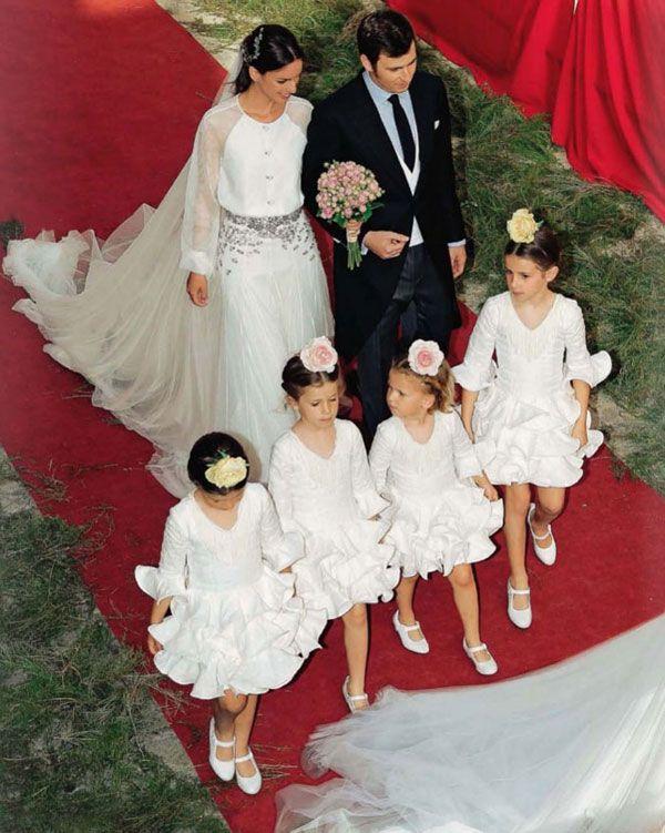 La boda de Mercedes Peralta