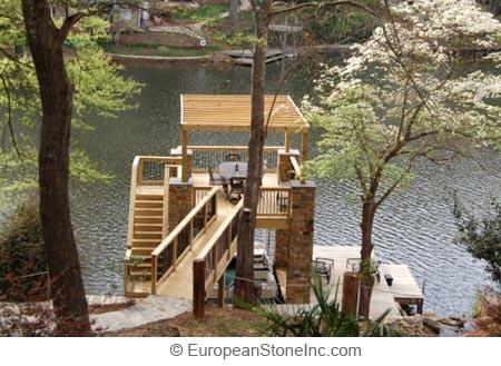 Cool Dock Lake House Pinterest