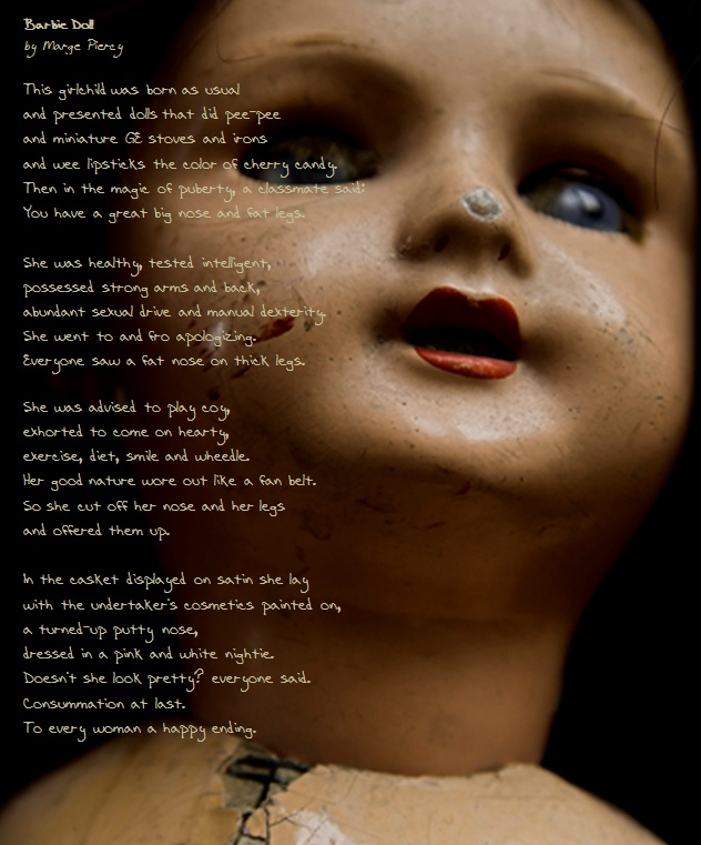 essays on barbie doll by marge piercy