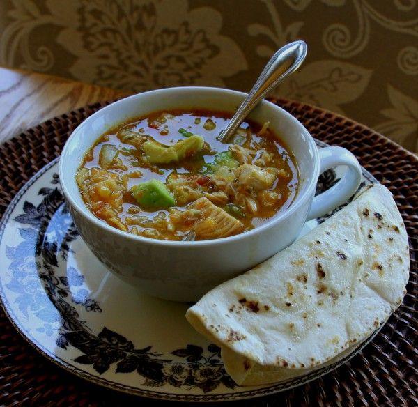 Green Chile Chicken Tortilla Soup1 | Delish! | Pinterest