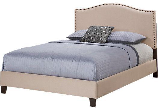 Belfield Sand Queen Bed 525 x 366