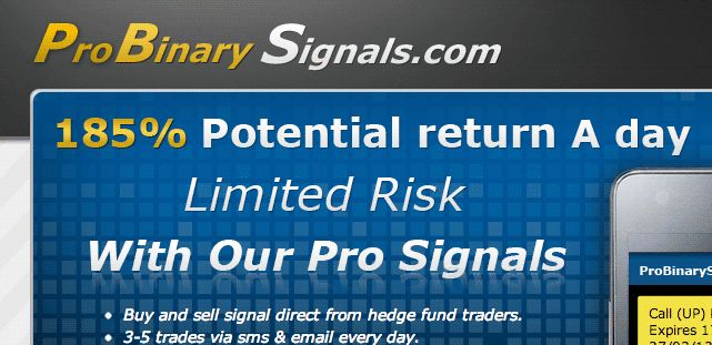 Binary options pro signals europe
