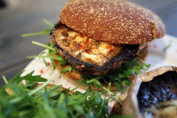 Portobello Mushroom Burger Recipe (Original Recipe)