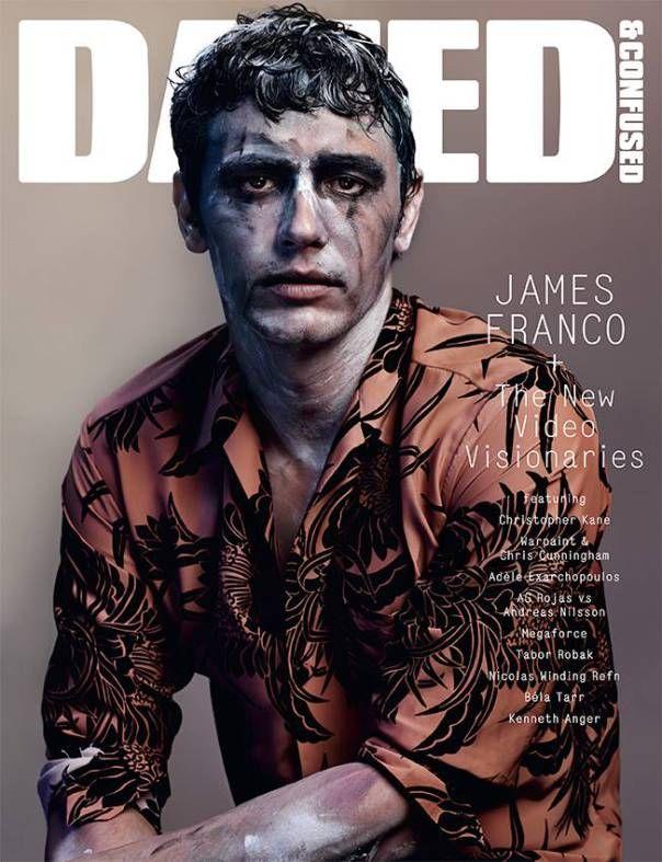 James Franco by Josh Olins for Dazed & Confused December 2013